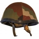 CASQUE ARMEE FRANCAISE + HOUSSE CAMO OCCASION
